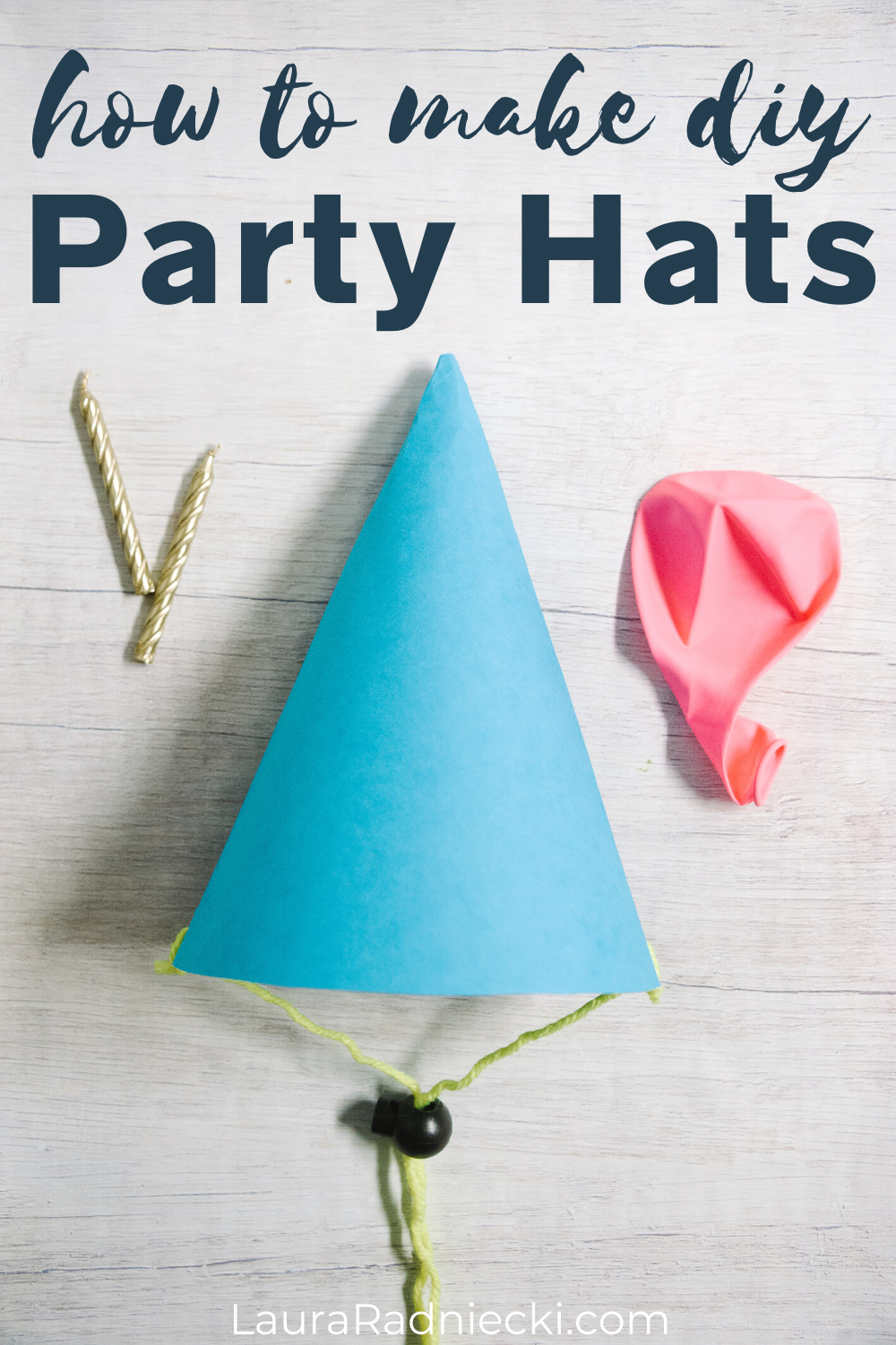 how to make diy party hats