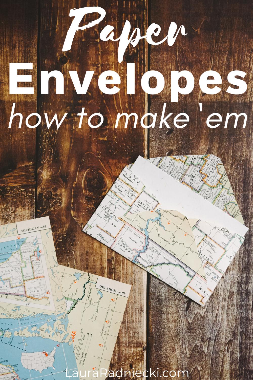 paper envelopes, how to make them