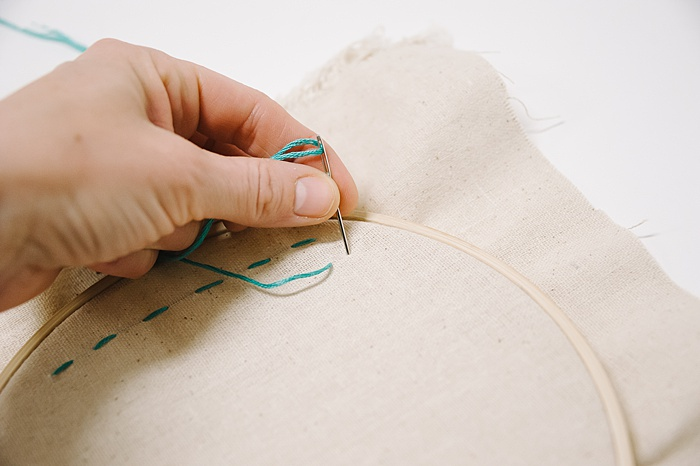 back stitch for embroidery