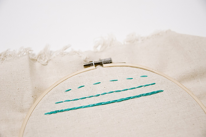 how to split stitch embroider | types of embroidery stitches