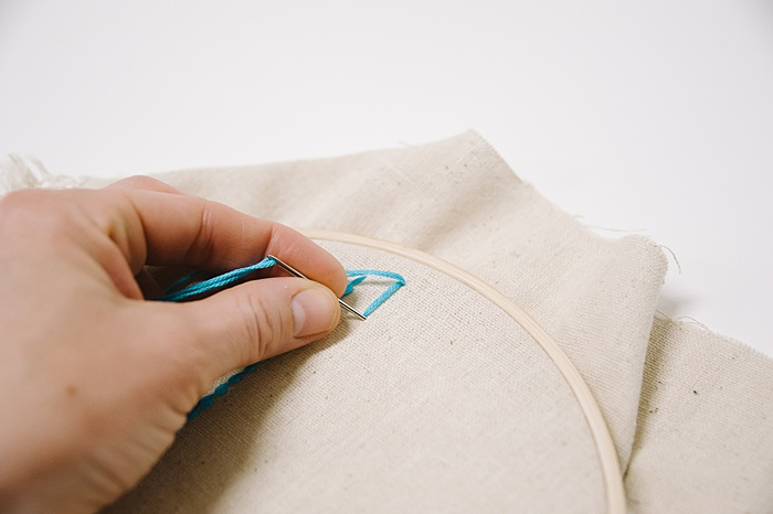 how to embroidery a satin stitch