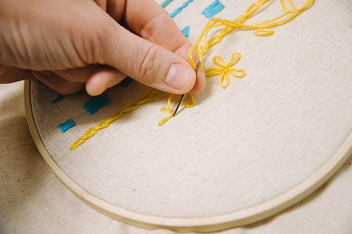 basic embroidery stitches
