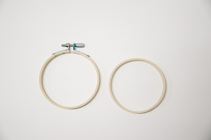 outer hoop and inner hoop for embroidery