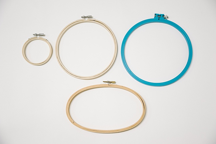 embroidery hoop sizes, square embroidery hoop, what are embroidery hoops made of