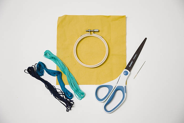 supplies needed for embroidery