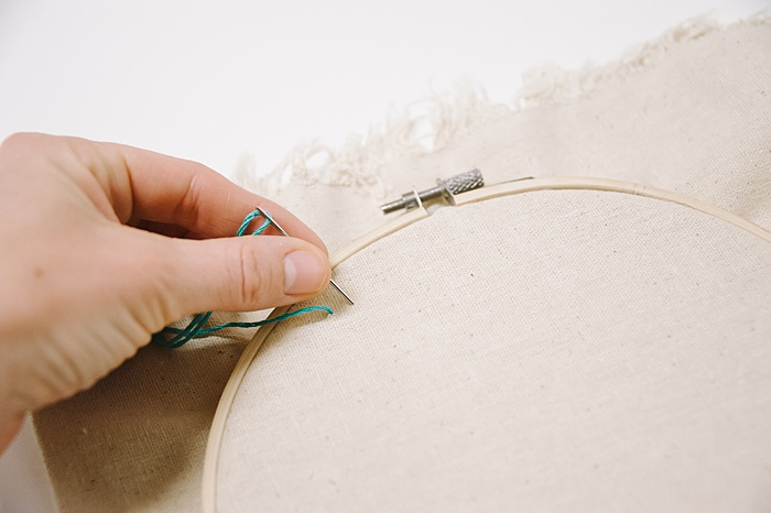 straight stitch in embroidery
