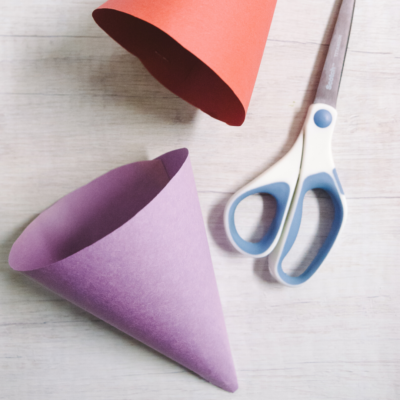 How to Make a Cone Out of Paper | DIY Paper Party Hat