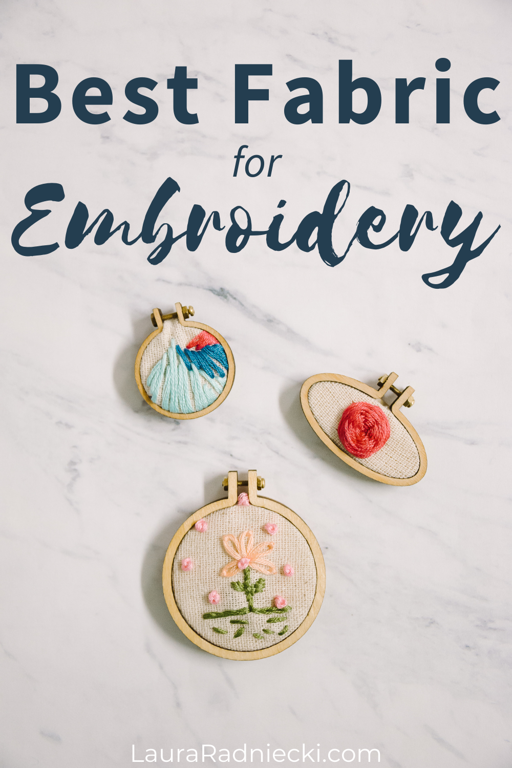 best fabric for embroidery