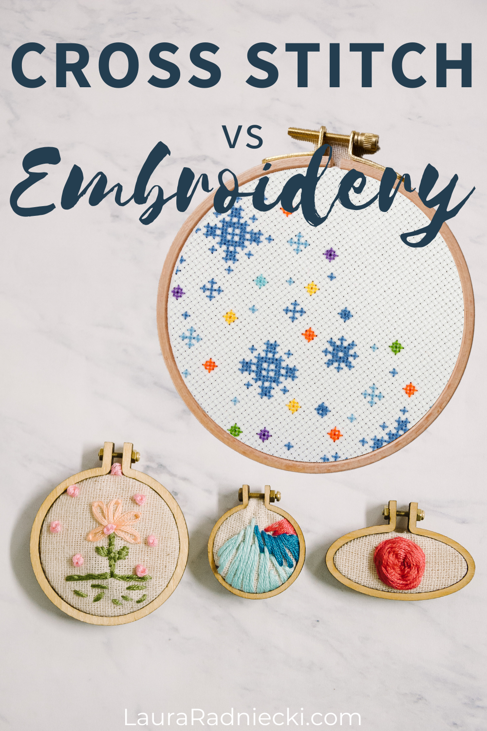 cross stitch vs embroidery   difference between cross stitch and embroidery