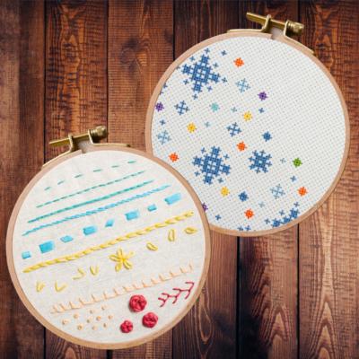 Cross Stitch vs Embroidery