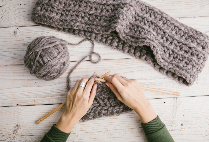 is it easier to knit or crochet