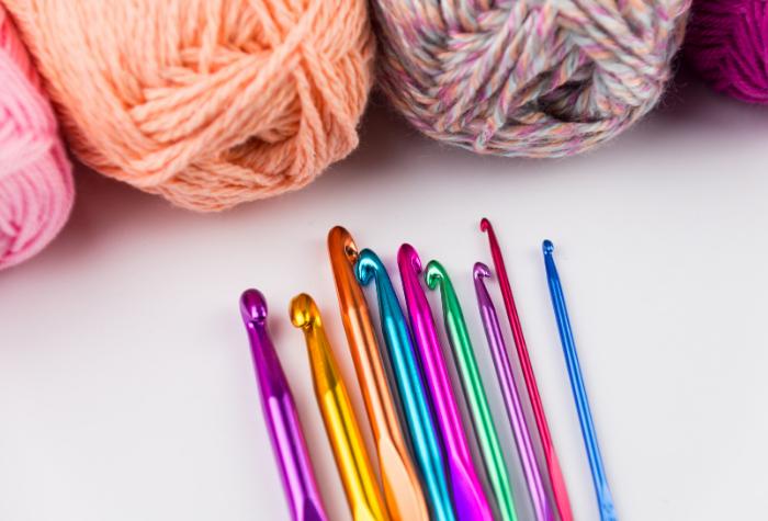 crochet hooks - is knitting or crocheting easier