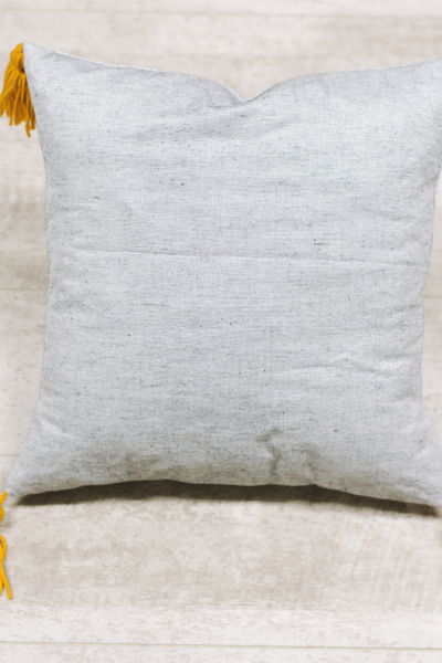How to Make a Pillow Cover with Tassels